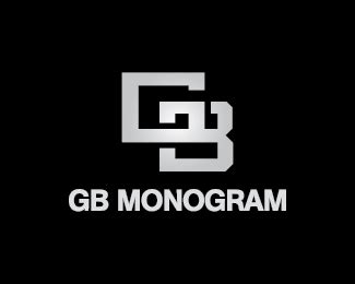 gb monogram designed  eclipse brandcrowd