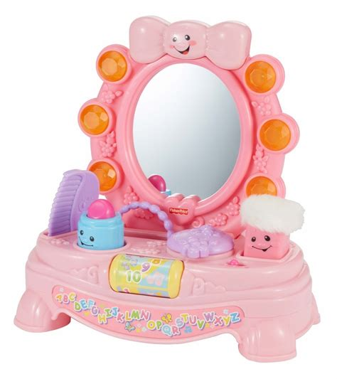 fisher price vanity fisher price laugh learn magical musical mirror