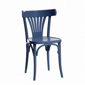 Chaise En Bois : chaise bistrot bois ton 56 zendart design ~ Melissatoandfro.com Idées de Décoration