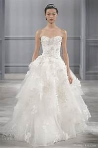 monique lhuillier spring 2014 wedding dresses wedding With monique lhuillier wedding dress