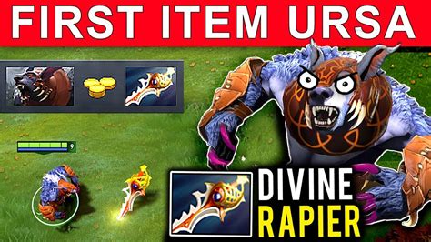 rapier item ursa dota 2 patch 7 11 new meta gameplay 55 gattu ursa youtube