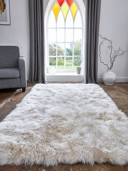 big fur rug best 25 large sheepskin rug ideas on