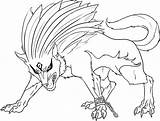 Wolf Coloring Printable Adult Wolfs Adults Templates Dragon sketch template
