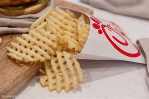 How Chick-fil-A's Waffle Fries Are Cut
