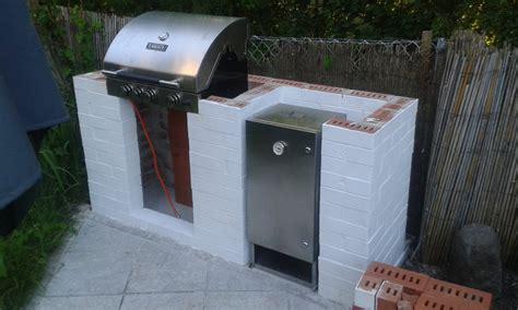 gasgrill selber bauen outdoor k che bauen px25 hitoiro