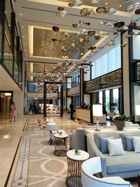 langham chicago hotel lobby design luxury hotel