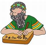 Scribe Mesopotamia Clipart Ancient Bible Passover Moses