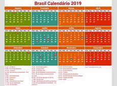 Calendário Brasil 2019 Feriados newspicturesxyz