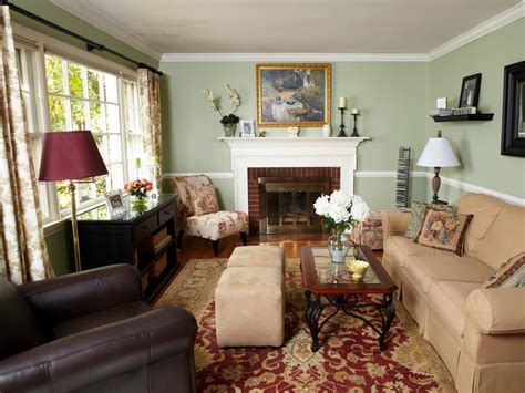 Traditional Rooms by Make Your Living Room Look 20 Years Younger Hgtv