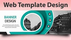Web Template Design In Photoshop