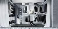 magnificent dressing room closet design Vestidores del diseñador Giuseppe Bavuso. Decoración del ...