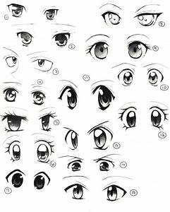 Draw Cute Anime Eyes Draw Cute Anime Eyes - Kids And Adult ...