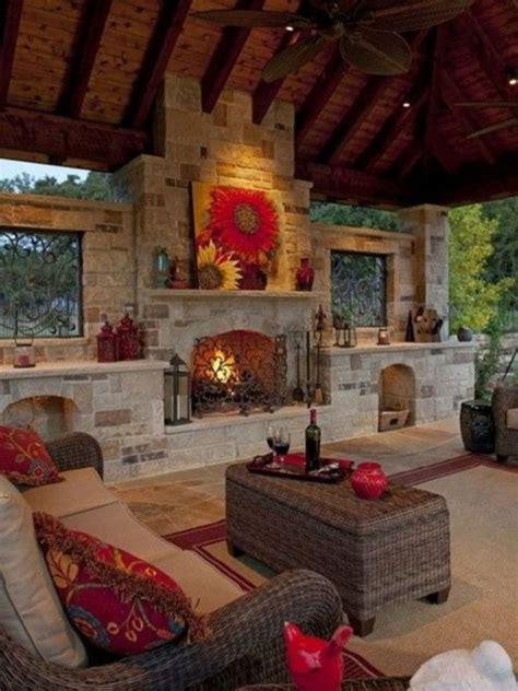 Best 25+ Outdoor Fireplaces Ideas On Pinterest Outdoor