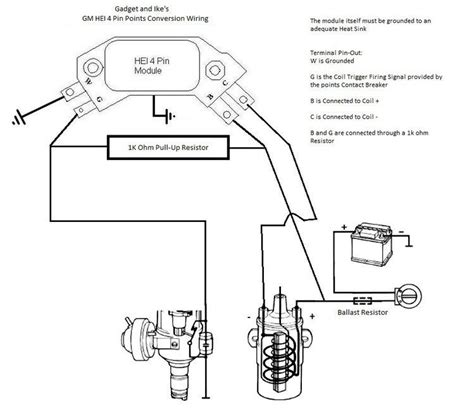 Effect Distributor Wiring Diagram by Technical How To Trigger Hei Using Stock Points Dist