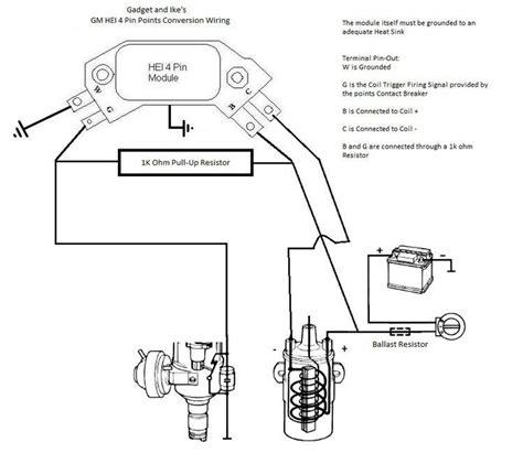 gm hei 4 pin wiring wiring diagram
