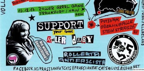 Homebout #3 Prussian Fat Cats Vs Roller Grrrl Gang