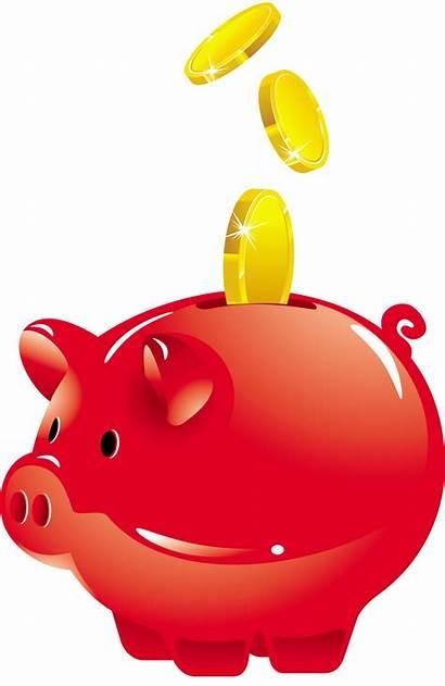 Bank Piggy Clipart Tirelire Tubes Transparentes Transparent