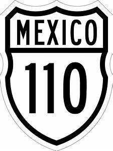 carretera federal 110 wikipedia la enciclopedia libre With 110 wiringpng