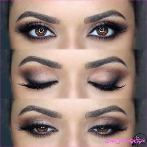 Makeup Ideas For Brown Eyes Hair