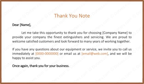 thank you letter sle to customer 28 images outbound