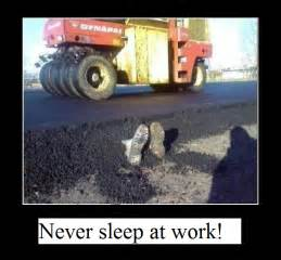 Sleeping at Work Meme