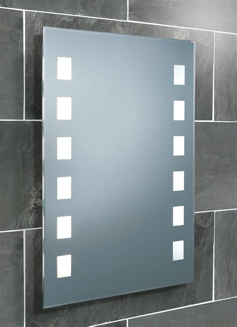 Lit Bathroom Mirrors by Hib Halifax Fluorescent Back Lit Bathroom Mirror 500 X