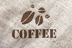 A coffee bag texture | Stock Photo | Colourbox