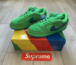 nike sb dunk pro grateful dead green size uk dswt