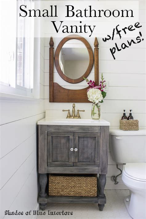 Small Vanity Cabinet by Small Master Bathroom Vanity Free Plans