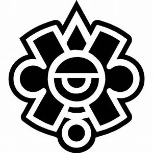 Mayan symbol of Mexico Icons | Free Download