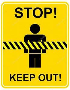 Stop, keep out - sign — Stock Vector © jazzia #1036152  Keep