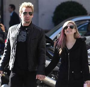 Avril Lavigne and Chad Kroeger - Engaged celebrities ...