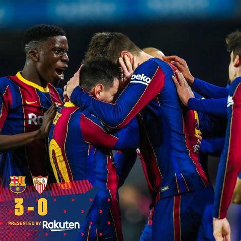 Barcelona vs Sevilla 3-0 – Highlights [DOWNLOAD VIDEO ...