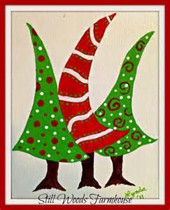 still woods farmhouse get a jump start with whimsical christmas art
