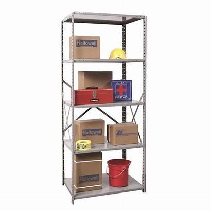 Open Shelving Unit Shelf Industrial Starter Steel