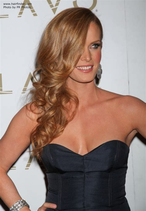 rebecca mader lush long hairstyle  curls