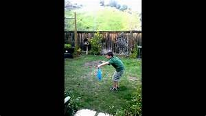 Funny kid picking up dog poop - YouTube