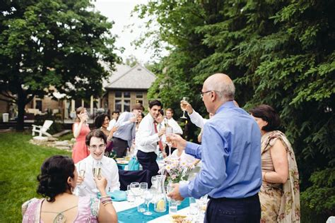 Multicultural Backyard Wedding In Toronto