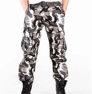 Hot Mens Camouflage Cargo Pants Outdoor Military Tactical