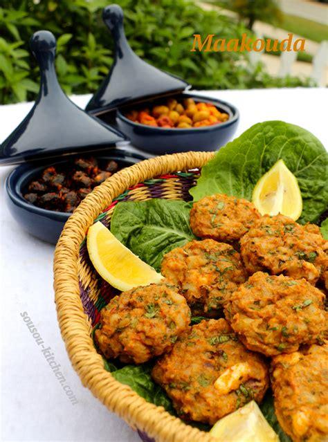 3 recettes de cuisine maâkouda galettes marocaines de pommes de terre