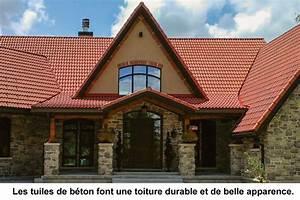 toits en tuiles de beton guide perrier With type de toiture maison 12 la tuile mecanique le guide de la maison