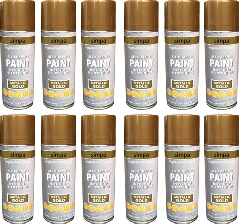 purpose spray paint metallic effect interior