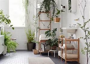 Des plantes vertes pour une salle de bains tendance for Salle de bain design avec décoration noel extérieur jardin