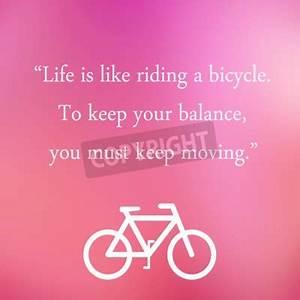 Das Leben Ist Wie Ein Fahrrad : weinlese motivzitat poster das leben ist wie fahrrad fahren notebook sticker wandsticker ~ Orissabook.com Haus und Dekorationen