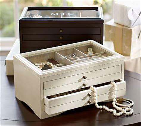 pottery barn jewelry box andover jewelry box pottery barn