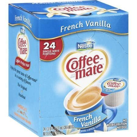 This perennial favorite blends rich creamer with just the right amount of bright vanilla notes for a taste that's simply beyond compare. Calories in Coffee Mate Nestle French Vanilla Coffee Creamer. Nutrition Facts, Ingredients and ...