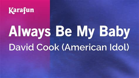 Adam musik 10 october 2020. You Always Be My Baby David Cook Mp3 Free Download - treehu