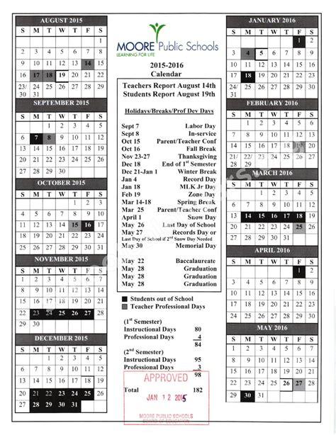 elementary school calendar 2015 2016 district calendar southgate rippetoe