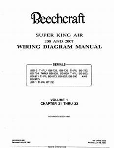 Beechcraft Super King Air 200 And 200t Wiring Diagram