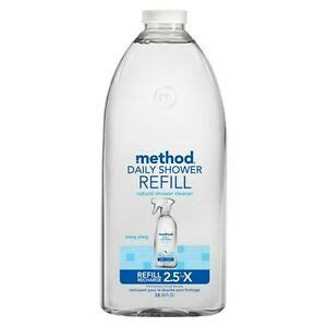 Method Shower Spray Refill by Method Daily Shower Spray Cleaner Refill 68oz